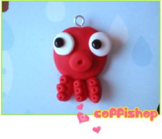 Polyp charm by coffishop