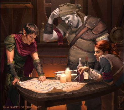 Dungeons and Dragons 5th Ed by CarmenSinek