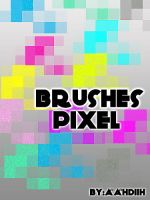 brushes pixel efect by Aahndiih