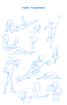 Pose training (for transformers animated?) challan by LyricaBelachium