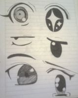 Eyes artwork 3 by B3at1t