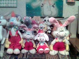 My Roger Rabbit Plushies by roger-rabbit
