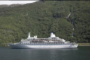 Cruise ship Flaam, Norway 2 by enframed