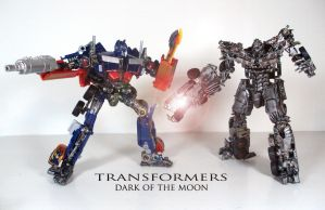 Transformers Dark of the Moon by Unicron9