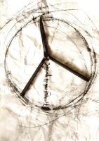 youth against violence- peace by Beenie78