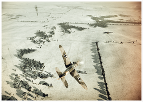 Messerschmitt Bf109F4 by TheAngryFishbed