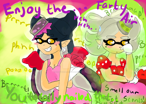 Squid Sisters Share Their Scents! by KirbyTheBluestBlue