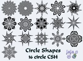 Circle Shapes by jojo-ojoj