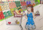 Shopping {Commission} by LillianCloudwing