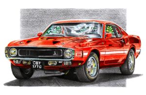 Ford Mustang Shelby GT500 by Arek-OGF