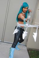 ReBoot cosplay: AndrAIa Ready to Strike by Koria-paws