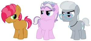 Bud Seed, Diamond Crown, Silverspork by EvilFrenzy