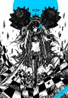 Black Rock Shooter Another Ver. by RobotIndonesia