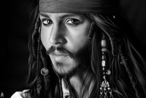 Jack Sparrow by MauroIllustrator