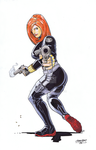 Black Widow by wjgrapes