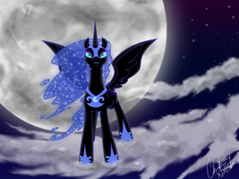 The Mare in the Moon by Gazpatcho