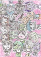 A lot of people by Snowyandshadsnowy