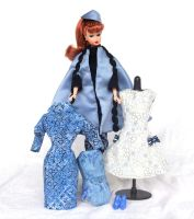 Barbie Clothing Giftset Blue and Black by annjepsen