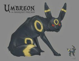 Umbreon by inkZER0