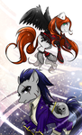 MLP: Death and Aerith by Alen-AS
