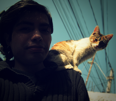 My Cat and Me by Finalfo