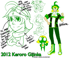 Keroro Gijinka Reference by G0966
