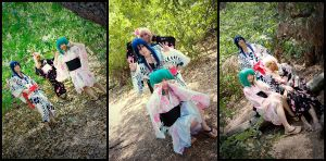 macross frontier : yukata set by kim-tram