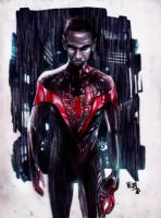 Miles Morales-Ultimate Spider-Man by NikolasDraperIvey