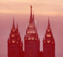 Salt Lake Temple, 2014 by houstonryan
