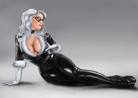 Black Cat by tuonenjoutsen