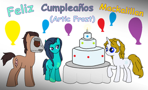 feliz cumple Artic Frozt by Estevangel