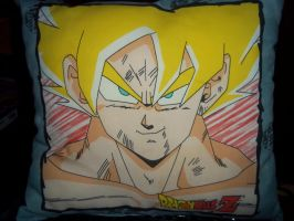 DBZ Pillow Side I by Eye-of-Kaiba