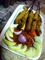 sate ayam by plainordinary1