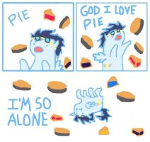 MLP Soarin: God I Love Pie by Landmark520