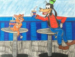 My time with goofy! by WDisneyRP-Oliver