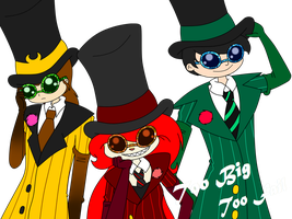 Top Hats And Sunglasses by strawhatcrew96
