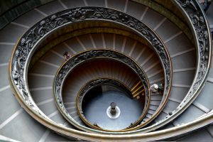 The Vatican Stairs by MelATCK