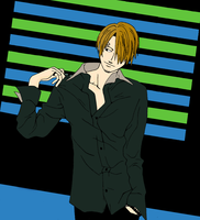 Colored Sanji by acesoontobefamous