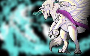 GIFT: Cryistall wallpaper by MagicallyCapricious