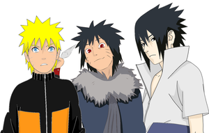 uchiha family by Bleach-Fairy