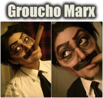 Groucho Marx Makeup Look by HannabalXMarie