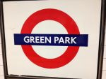 Green Park Station Sign by Uponia