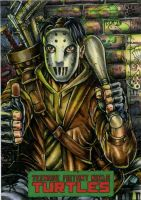 Casey Jones TMNT by IDW by DKuang