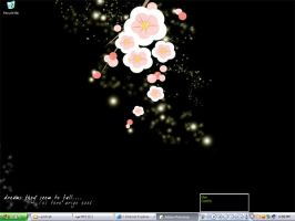 Desktop: Sakura Blossoms by thresca
