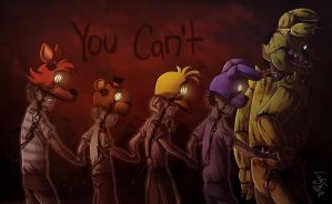 FNAF - Bad Ending by LadyFiszi