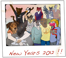 Happy New Year 2012 by Toucat