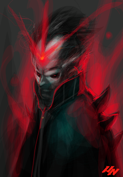 VECTOR SPEED PAINTING by HumanNature84