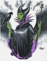 Maleficent by Sajad126
