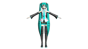 Diva Miku DT by skydow