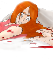 Orihime 10 Themes: Fear by RomaniaBlack